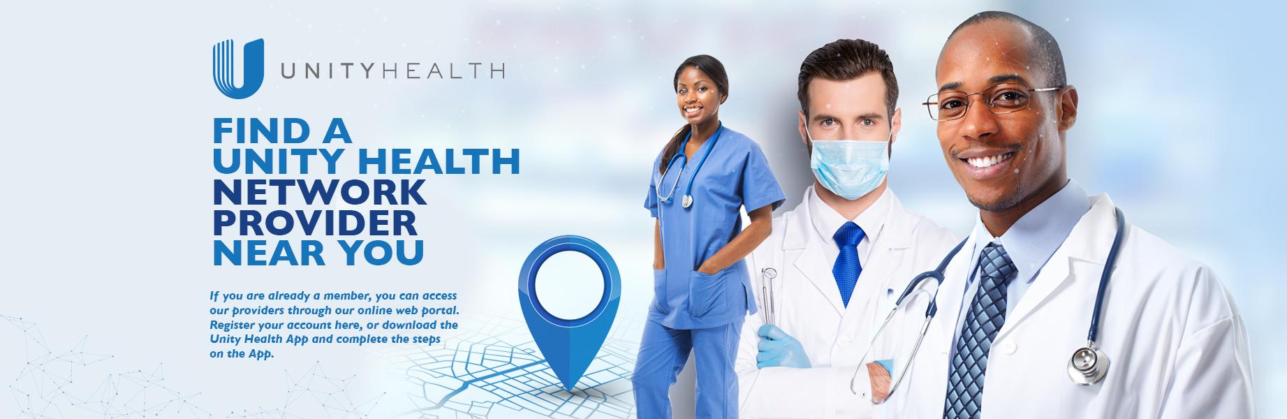 Unity Health network doctors
